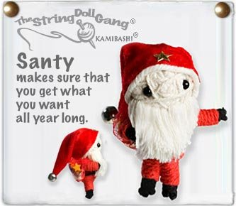 """Santy"" String Doll, The Original String Doll Gang"