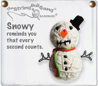 """Snowy"" String Doll, The Original String Doll Gang"