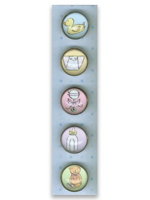 Set of Five Baby Magnets