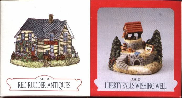 Red Rudder Antiques & Wishing Well, Liberty Falls House Collection, AH100 & AH125