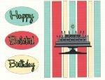 Belated Birthday Card ~ Cake