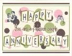 Anniversary Card ~ Fabulous Couple