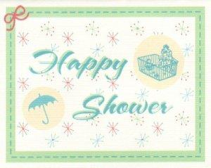 baby shower card happy shower