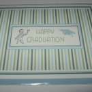 Graduation Card ~ Man in Blue