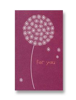Mini Gift Card ~ Dandelion