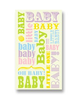 Mini Gift Cards ~ Baby