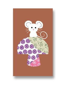 Mini Gift Card ~ Crafty Mouse