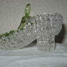 Drizzle Clear Glass Shoe