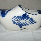 Hand Painted Ceramic Delft Blue Dutch Clog (Korea).