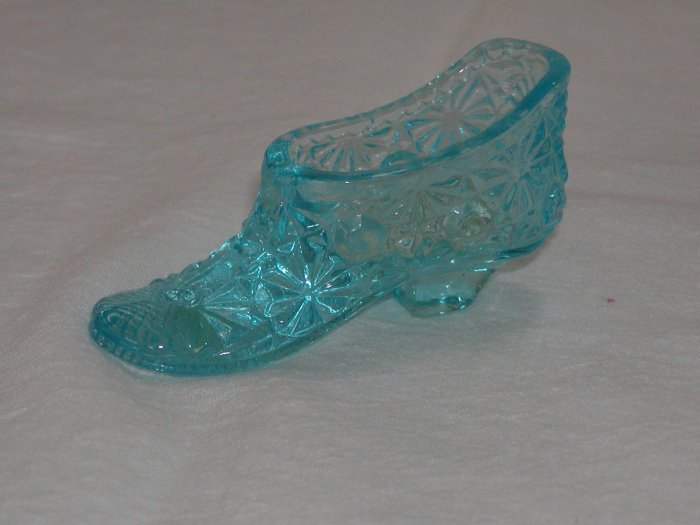 Blue Opaque Slipper No Markings