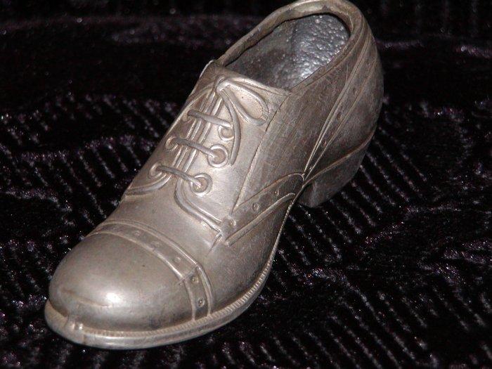 Old Metal Man's Shoe Circa 1930 from Japan