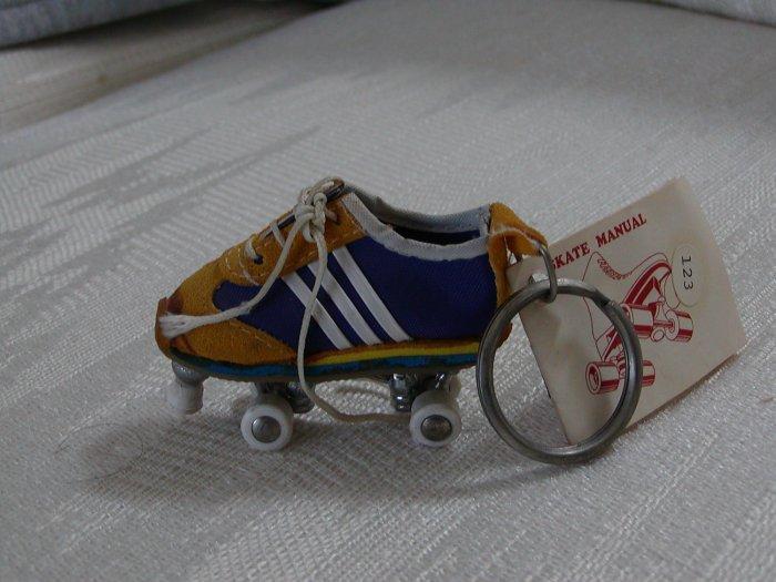 Unique Shoe on Skates Key Ring, 1980