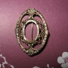 Vintage Gold Brooch Setting
