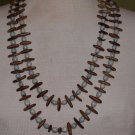 Vintage Seed and Wood Beaded Necklace