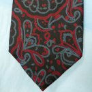 Retro Adolfo Neck Tie, Blue and Red Print