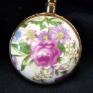 Vintage Purse Hanging Hook, Flower Design