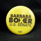 1992 Barbra Boxer Election Button