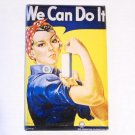 Single Switch Plate Cover, Rosie the Riveter Print