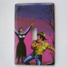 Single Switch Plate Cover, Pulp Fiction Women and Man Scene