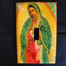 Single Switch Plate Cover, Our Lady of Guadalupe with Colorful Background