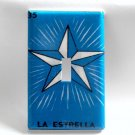 Single Switch Plate Cover, Loteria Card Star Image Blue Background