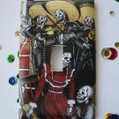 Single Switch Plate Cover, Day of the Dead Mariachi Band
