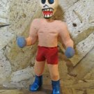 Clay Day of the Dead Figure, Boxer with Red Shorts