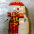 Snowman Holiday Ornament Box