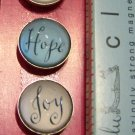 Set of Five Inspirational Word Magnets