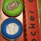Set of Four Sport Ball Magnets