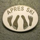 """Apres Ski"" or ""After Ski"" Retro Pin"