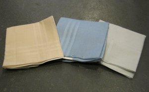 Set of Three Retro Pocket Handkerchiefs