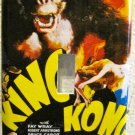 Single Switch Plate Cover, King Kong Movie Poster