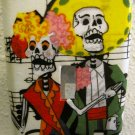 Single Switch Plate Cover, Day of the Dead Couple with Music Note Background