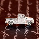 Silver Truck Tie Tack, Hand Made