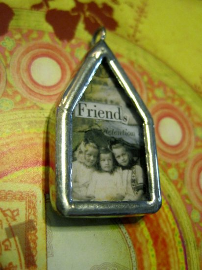 "The House of ""Friendship"" Charm, Necklace Pendant"