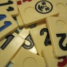 Rummikub Game Pieces, 76 Pcs