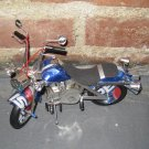 Medium Motorcycle, Made of Recycled Pepsi Cans