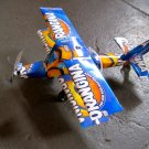 Plane Made of Recycled Orangina Cans