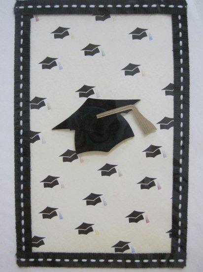 Graduation Cap Print Graduation Card with Envelope