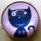 Little Cat Round Magnet