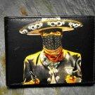 Hand Decorated Wallet, Gun Slinger Muchacho