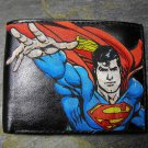 Hand Decorated Wallet, Superman Print