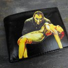 Hand Decorated Wallet, Dracula Carrying Woman Print