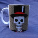 Hand Decorated Ceramic Sublimated Mug 12oz, Day of the Dead Groom
