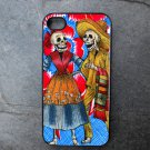 Day of the Dead Couple Decorated iPhone4 or iPhone5 Case