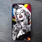 Marilyn Monroe Tattoo Decorated iPhone 4,5,6 or 6plus Case