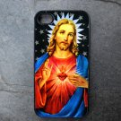 Jesus on Star Print Background Decorated iPhone 4,5,6 or 6plus Case