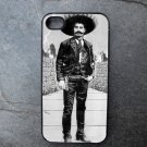 Black and White Retro Mexican Man Print Decorated iPhone 4,5,6 or 6plus Case