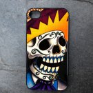 Day of the Dead Colorful Man Decorated iPhone 4,5,6 or 6plus Case
